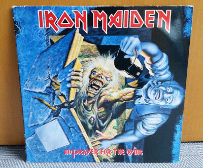 Iron Maiden  No Prayer For The Dying Original Press 1990 EMI vinyl Lp