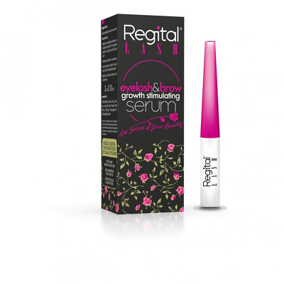 REGITAL LASH Eyelash Brow growth stimulating Serum Longer Stronger Fuller Safe