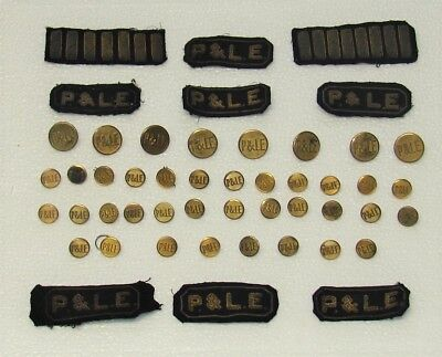 P&LE Conductor Uniform Buttons And Patches