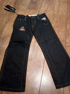 boys haywire black fashionable jeans size 25 waist