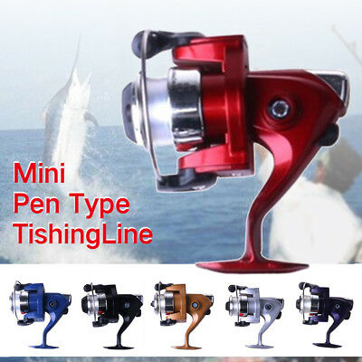 ... 1 Mini Portable Pocket size Fish Pen Aluminum Alloy Fishing Rod Pole Reel Combos