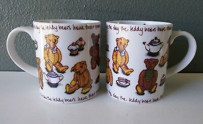 Paul Cardew Classics - Ted Tea - Coffee Mugs - Pair
