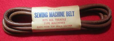 New Old Stock Boye Treadle Sewing Machine Belt With Hook Singer & Others