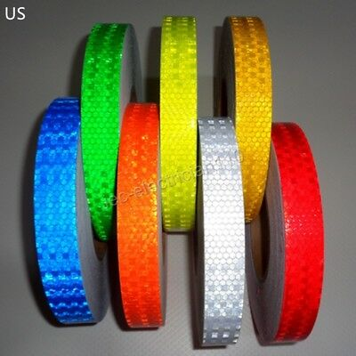 "Reflective tape Sticker 3/4""x25m diamond grade car Truck road Safety Warning US"