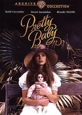 Pretty Baby rare DVD with Keith Carradine, Brooke Shields, and Susan Sarandon