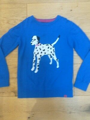 Joules girls jumper age 7-8
