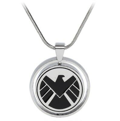 NEW Marvel Agents of Shield S.H.I.E.L.D. vs Hydra Allegiance Pendant Necklace