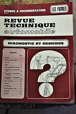 "ETAI  "" les pannes ""  DIAGNOSTICS  et  REMEDES  version 1982"