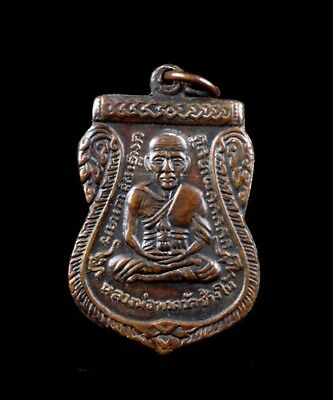 thai buddha amulet old PHRA  LP Tuad The maestro Fetish Holy POWERFUL