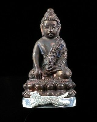 Thai Amulet Buddha PHRA KRING LP SUD Buddhist art antique (Bell inside)