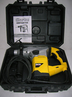 Clarke Contractor Professional Variable Speed 1500w SDS+ Hammer Drill/Breaker.