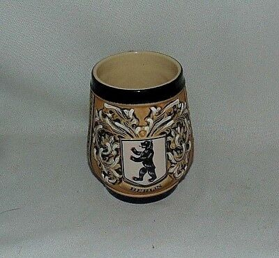 Western Germany Mug Original King Hand Painted Berlin