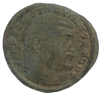 ROMAN BRONZE COIN FOLLIS CONSTANTINE THE GREAT JUPITER SISCIA AE21 3,11g