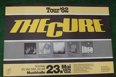 Cure Concert Poster 82 Rare