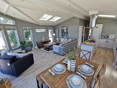 Brand New Luxury Lodge For Sale 12 Months Owners Only Park Perranporth Cornwall