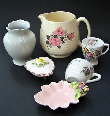 Ceramic China Job Lot Beswick, Sylvac, Denton, J & G Meakin & Spode Copeland