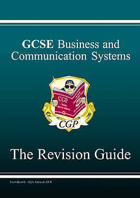GCSE Business and Communications Revision Guide by CGP Books (Paperback, 2006)