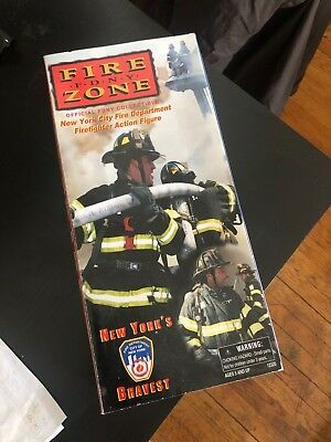 Fire Zone FDNY Firefighter Action Figure New Official FDNY Collectible