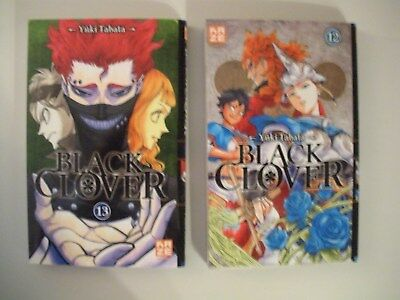 BLACK CLOVER ( tome 12 & 13 )  MANGA VF & NEUF   / NO PAYPAL