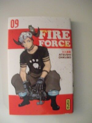 FIRE FORCE ( tome 9 )  MANGA VF & NEUF   / NO PAYPAL