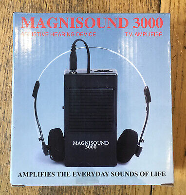 50 x Magnisound 3000 TV Amplifier Hearing Aid Modulator Systems - WHOLESALE