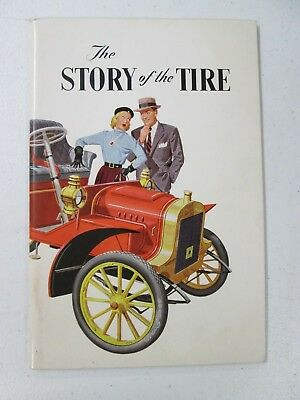 Vintage Goodyear The Story of the Tire 1953 Edition Akron OH