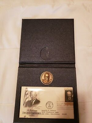 Dwight D. Eisenhower 1st day stamp Commemorative Set