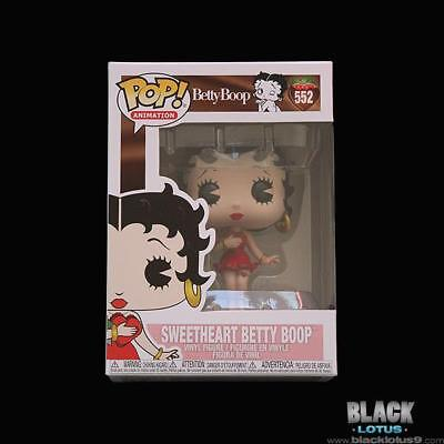 Funko Pop! Sweetheart Betty Boop Valentines Animation IN STOCK Pop 552