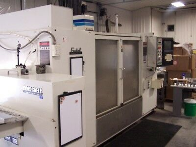 "Fadal 4020 Cnc Vmc 28"" Extended Z. 30 Tools With Pallet Changer & Hydrosweep"