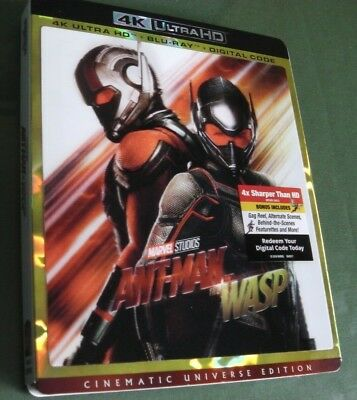 Ant-Man and the Wasp (4K Ultra HD with lenticular slipcover) Marvel / Disney