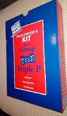 Triple P Facilitator's Kit For Group Teen - For Every Parent - Revised edition