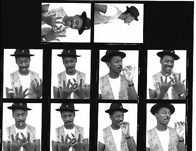 "*PH16 LOT SALE OF 10 B/W 3"" NEGATIVES + CONTACT PHOTO Robert Townsend METEOR MAN"