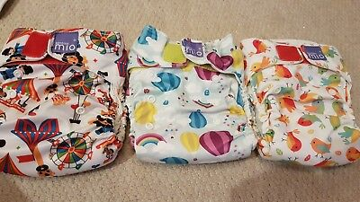 Bambino Miosolo All In One Pocket Nappy Bundle Unisex
