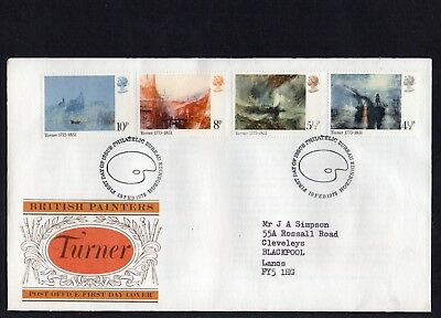 GB QE II 1975 Turner FDC