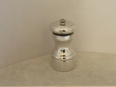 Sterling Silver Pepper Mill