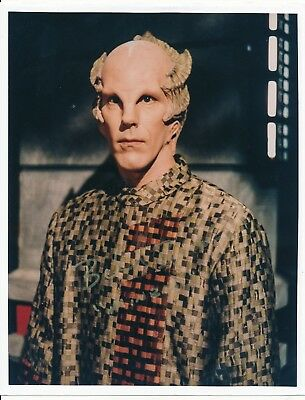 Hearty Official Website Bill Blair In Babylon 5 Tv Series 8x10 Autographed Science Fiction & Horror Collectibles