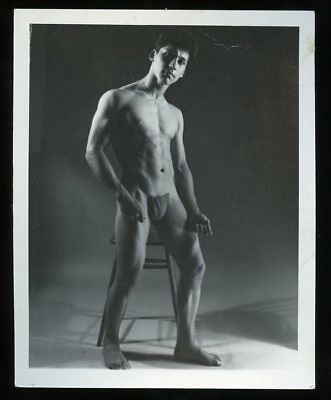 "4""x5"" (Western Photography Guild?) Gay-Interest BODY BUILDER PHOTO #1 of 18"
