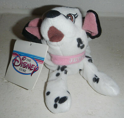 Disney Store Lucky Plush 101 Dalmatians Mini Bean Bag New With Tags