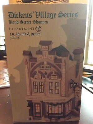 Dickens Village Series CD BOZ Ink and Pen 4030359