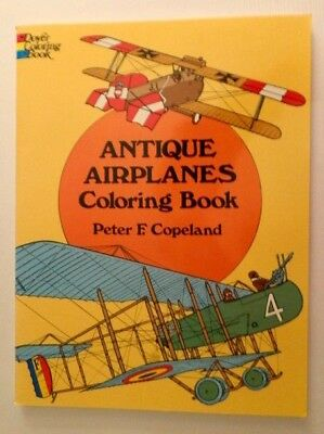 Antique Airplanes Coloring Book by Peter F. Copeland