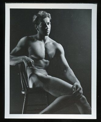 "4""x5"" (Western Photography Guild?) Gay-Interest BODY BUILDER PHOTO #6 of 18"