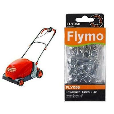 Genuine Flymo Compact 3400 340 Lawnrake Tines FLY058 by Flymo