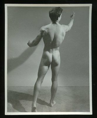 "4"" x 5"" Western Photography Guild Gay-Interest BODY BUILDER PHOTO #14 of 18"