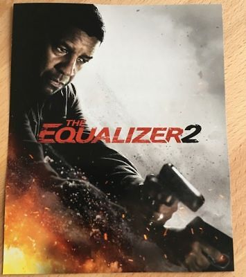 The Equalizer 2 Hd Digital Ultraviolet Code Only Taken From 4K Ultra Hd Bluray