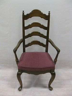 Ethan Allen Classic Manor Ladder Back Arm Chair