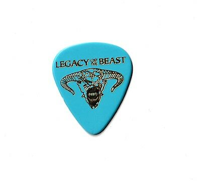 DAVE MURRAY (( IRON MAIDEN )) Legacy of the beast RARE GUITAR PICK