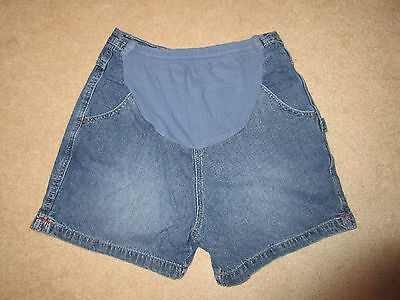 MATERNITY - Shorts - Motherhood - Denim - Carpenter - Med Blue - Sz S