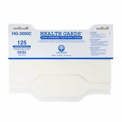 Hospeco HG-3000C Health Gards Lever Dispensed Half-Fold Toilet Seat Covers with