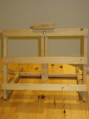 Winsor & Newton Table Easel Tay Used and missing a screw & wing nut