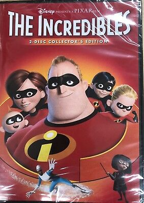 The Incredibles Disney PIXAR Brand New Sealed, 2005 DVD 2-disc Collector's ED.